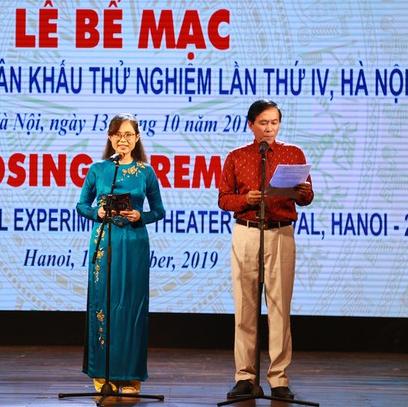 4 tác phẩm đoạt huy chương vàng Liên hoan quốc tế Sân khấu thử nghiệm