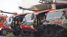 Đội Xe Cứu Hỏa Đặc Chủng Ở Sân Bay Tân Sơn Nhất Có Gì Đặc Biệt?