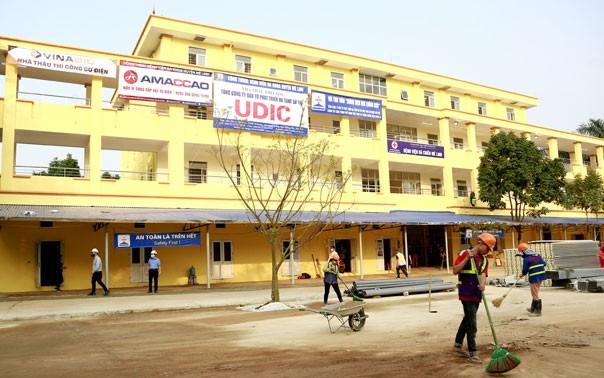 Hà Nội sắp hoàn thiện bệnh viện dã chiến Mê Linh, thành lập 4 khu cách ly