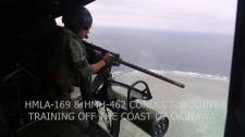 Thủy Quân Lục Chiến Mỹ Tập Trận Bắn Đạn Thật Ở Okinawa