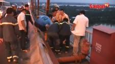 Cuộc giải cứu ngoạn mục trên cầu Rạch Miễu